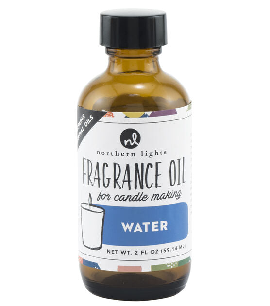 Fragrance Oil 2oz Glass Bottle - Water