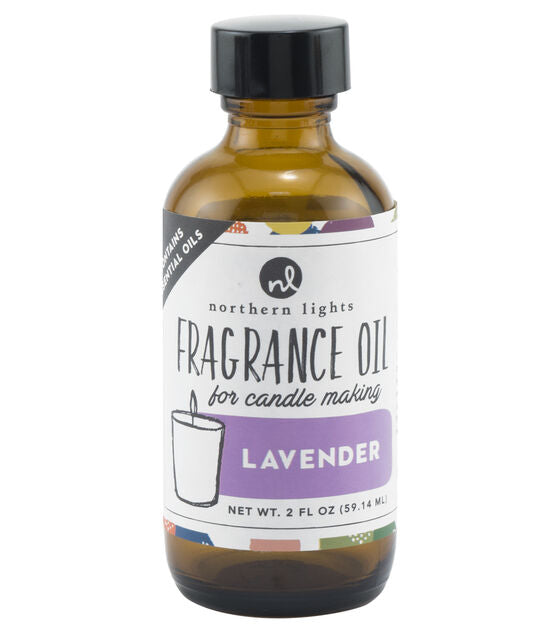 Fragrance Oil 2oz Glass Bottle - Lavender