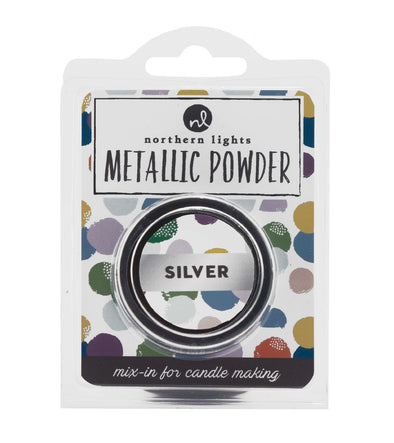Metallic Powder 8 grams - Silver