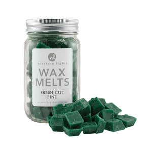 Northern Lights Candles / Mason Melts - Fresh Cut Pine