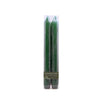Northern Lights Candles / Embers 2pk Tapers - Hunter Green