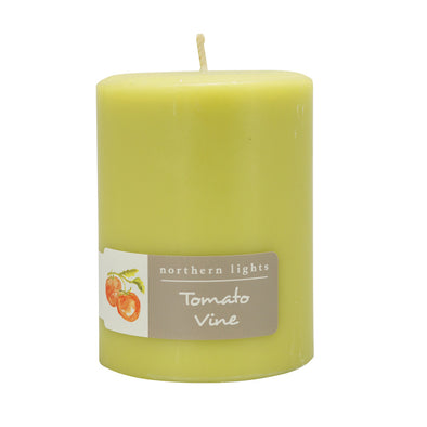 Northern Lights Candles / 3x4 Pillar - Tomato Vine