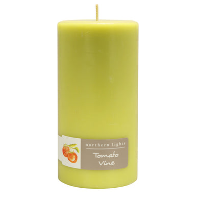 Northern Lights Candles / 3x6 Pillar - Tomato Vine