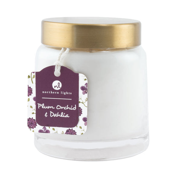 Northern Lights Candles / Essentials Jar - Plum Orchid & Dahlia