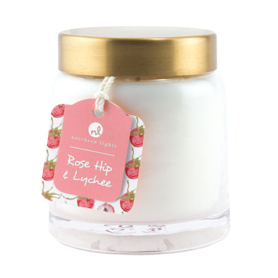 Northern Lights Candles / Essentials Jar - Rose Hip & Lychee