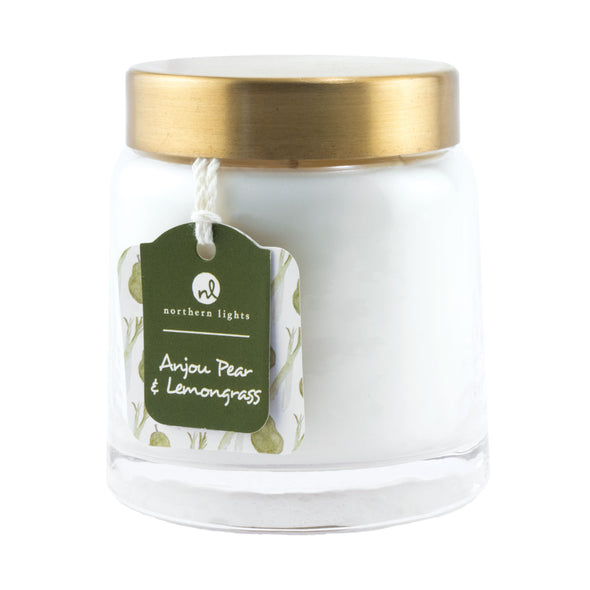 Northern Lights Candles / Essentials Jar - Anjou Pear & Lemongrass