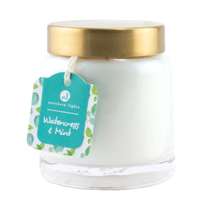 Northern Lights Candles / Essentials Jar - Watercress & Mint