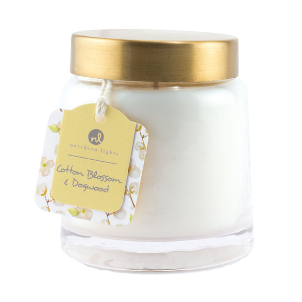 Northern Lights Candles / Essentials Jar - Cotton Blossom & Dogwood