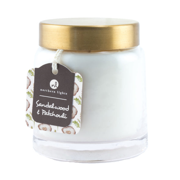 Northern Lights Candles / Essentials Jar - Sandalwood & Patchouli