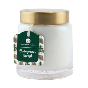 Northern Lights Candles / Essentials Jar - Evergreen Forest