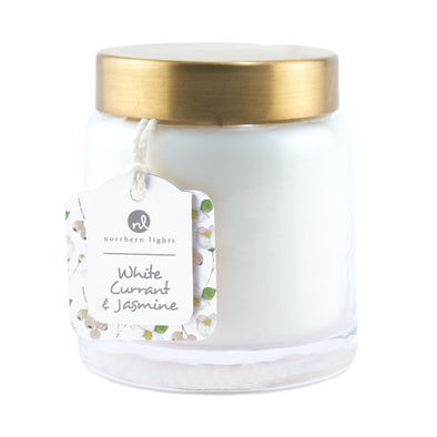 Essentials Jar - White Currant & Jasmine - Northern Lights Candles