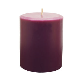 Northern Lights Candles / 3x4 Pillar - Amethyst