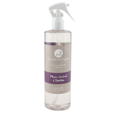 Room Spray - Plum Orchid & Dahlia - Northern Lights Candles