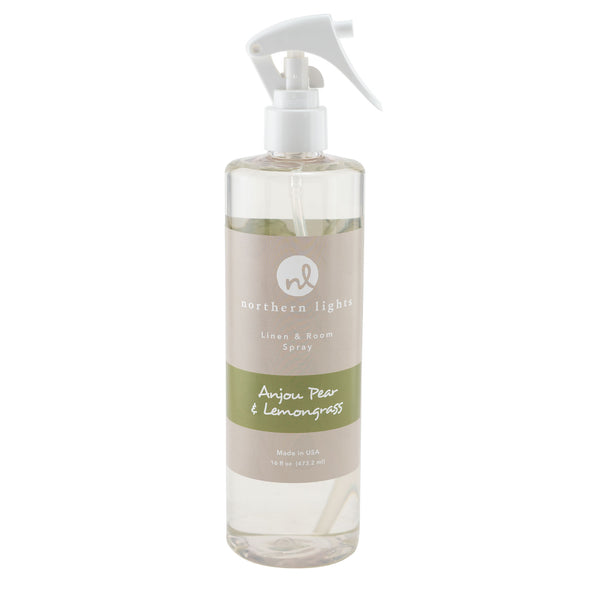 Room Spray - Anjou Pear & Lemongrass - Northern Lights Candles