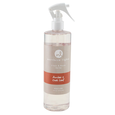 Room Spray - Amber & Oak Leaf