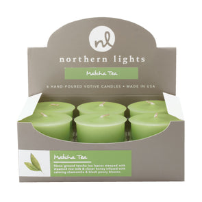 Votives - Matcha Tea - Northern Lights Candles