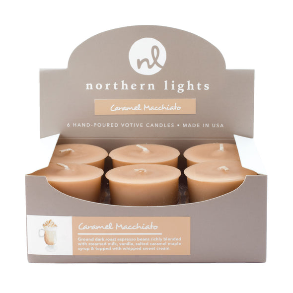 Northern Lights Candles / Votives - Caramel Macchiato