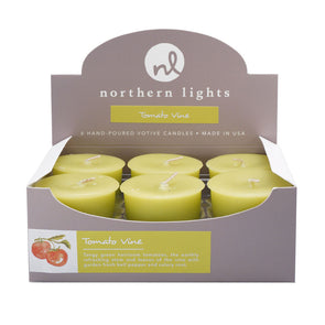 Northern Lights Candles / Votives - Tomato Vine