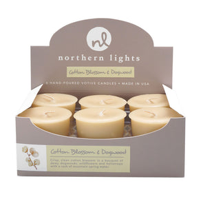Votives - Cotton Blossom & Dogwood - Northern Lights Candles