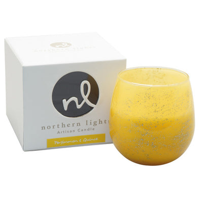 Northern Lights Candles / Artisan Candle - Persimmon & Quince