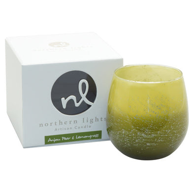 Northern Lights Candles / Artisan Candle - Anjou Pear & Lemongrass
