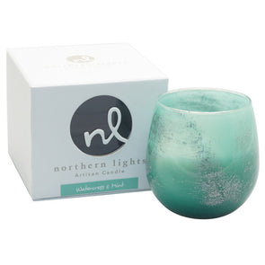 Northern Lights Candles / Artisan Candle - Watercress & Mint