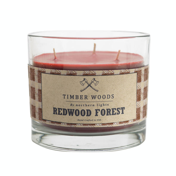 Northern Lights Candles / Timber Woods - Redwood Forest