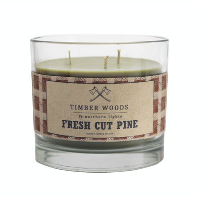 Northern Lights Candles / Timber Woods - Fresh Cut Pine