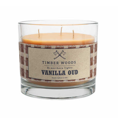 Northern Lights Candles / Timber Woods - Vanilla Oud