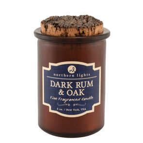 Spirit Jar - Dark Rum & Oak - Northern Lights Candles