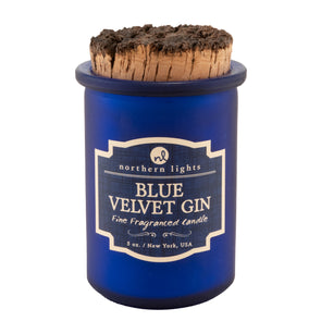 Northern Lights Candles / Spirit Jar - Blue Velvet Gin