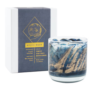 Northern Lights Candles / Meditation - Mystic Moon