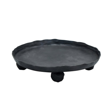 Northern Lights Candles / Blacksmith - Pillar Plate