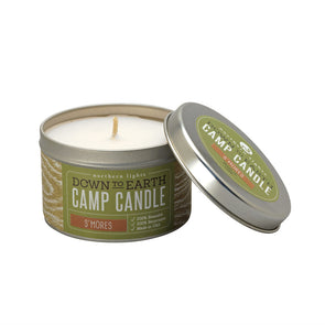 Northern Lights Candles / Camp Candle - S'mores