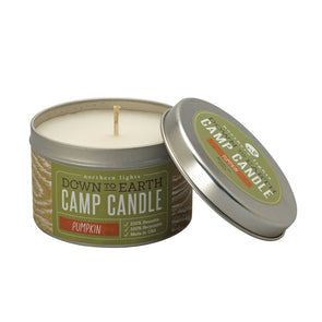 Northern Lights Candles / Camp Candle - Pumpkin