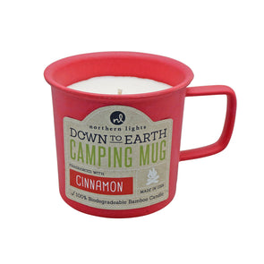 Northern Lights Candles / Camping Mug - Cinnamon