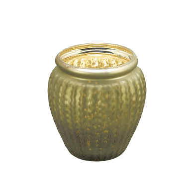 Northern Lights Candles / Lustre Votive Holder - Olive