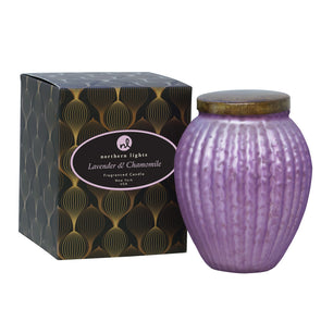 Northern Lights Candles / Lustre - Lavender & Chamomile