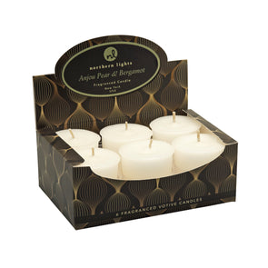 Northern Lights Candles / Lustre Votives - Anjou Pear & Bergamot