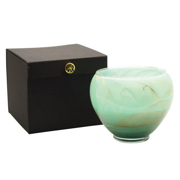 "Northern Lights Candles / 6"" Vase - Celadon"