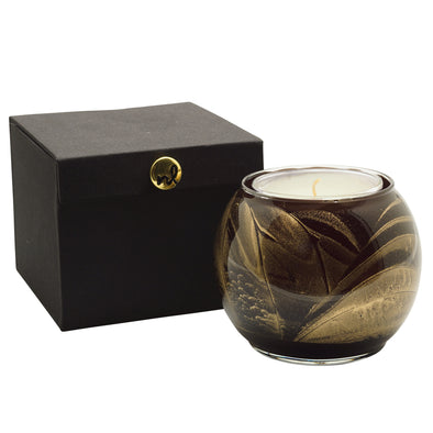 "Northern Lights Candles / 4"" Globe - Ebony"