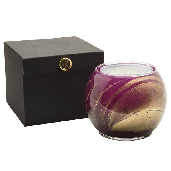 "4"" Globe - Amethyst - Northern Lights Candles"