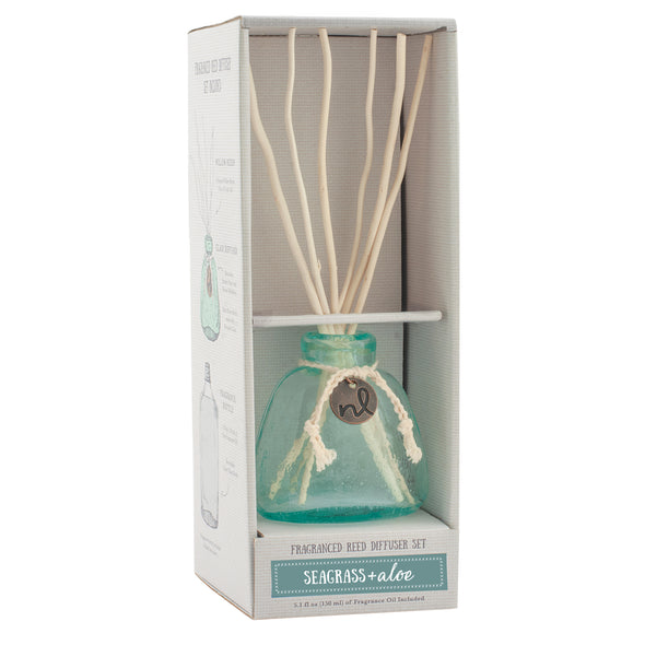 Northern Lights Candles / Windward Reed Diffuser - Seagrass and Aloe