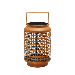 Northern Lights Candles / Nomad - Rustic Orange Lantern