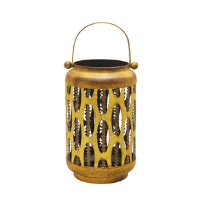 Nomad - Vintage Yellow Lantern - Northern Lights Candles
