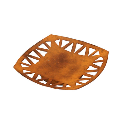 Nomad - Rustic Orange Plate - Northern Lights Candles