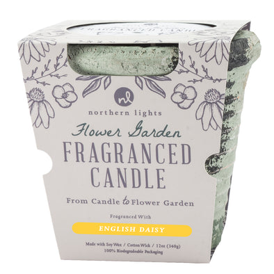 Flower Garden - English Daisy - Northern Lights Candles