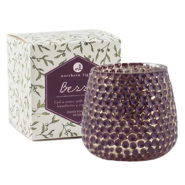 Northern Lights Candles / Laurel - Berry