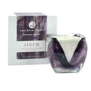 Northern Lights Candles / Cascade - Storm