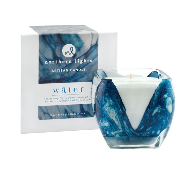 Northern Lights Candles / Cascade - Water